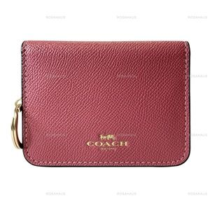COACH BIFOLD CARD CASE IN COLORBLOCK F77901